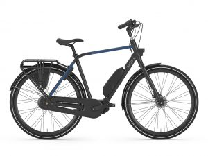 City Go C7 Black, E-Bike, Gazell, Fahrrad Waltere